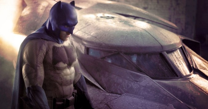 """First Look of Affleck as """"Batman"""""""